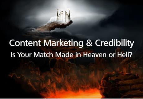 content marketing credibility heaven