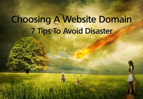choosing a website domain