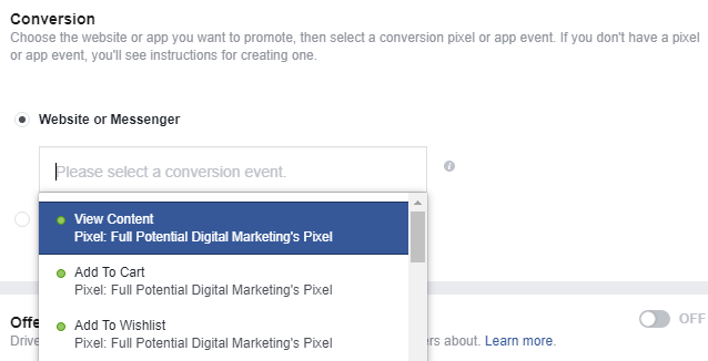 facebook advertising facebook pixel